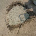 Malaysia - Deep Pothole in Telok Gong (Repair)